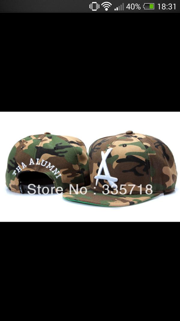 hat snapback kid ink tha alumni dope camouflage cap kid ink