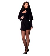 dress,nun,nun costume,sexy costume,holy,halloween,chasity nun,costume