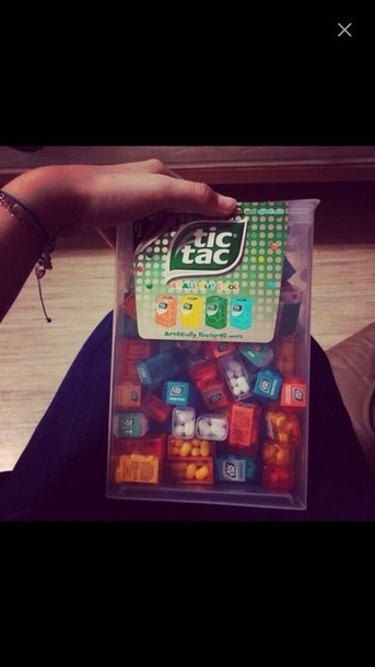 tic tac candy food