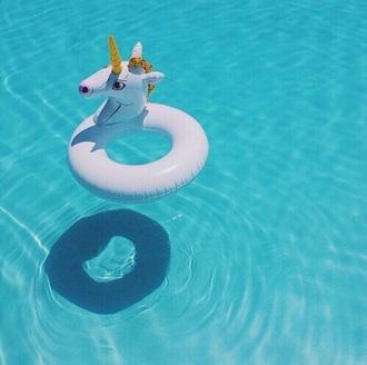 swimwear unicorn home accessory swimingpool