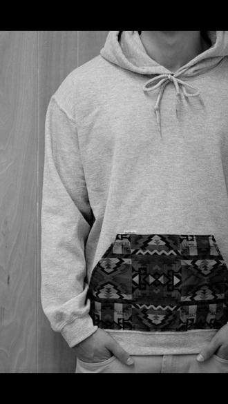 sweater tribal pattern tumblr sweater guys
