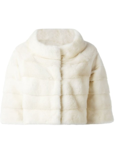Liska jacket cropped jacket cropped fur women nude