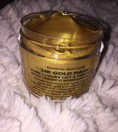 make-up,facial,half mask,gold,24 stilinski,acne cleaner