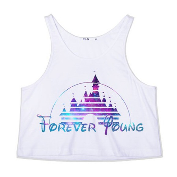 forever young crop tops