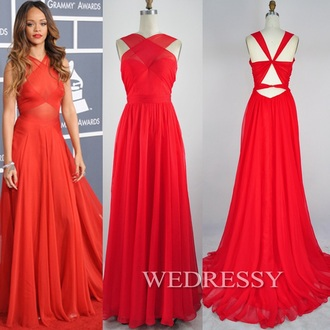 dress red prom dress red dress rihanna red dress prom dress long dress maxi dress