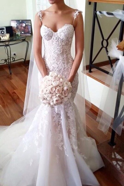 dress wedding dress lace dress lace wedding dress mermaid wedding dress mermaid mermaid dresses