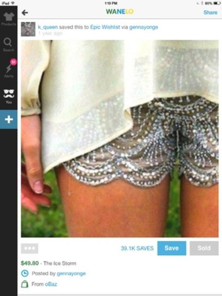 shorts bling