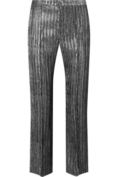 Isabel Marant pants cropped silver