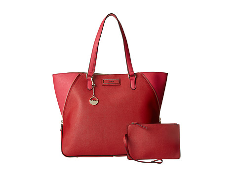 DKNY Large Zip Tote Red/Magenta - Zappos.com Free Shipping BOTH Ways