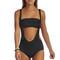 Vitamin a swimwear throwback suspenders blackout -resort runway