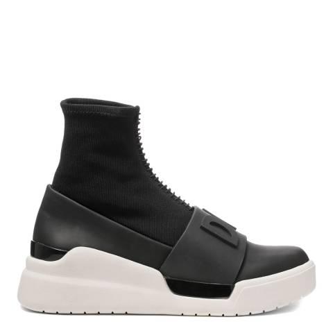 Black Raven Sock Sneakers