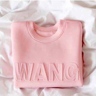 t-shirt carefree classy clothes luxury america brand fashion baby pink girl beautiful urban pastel pink alexander wang neoprene