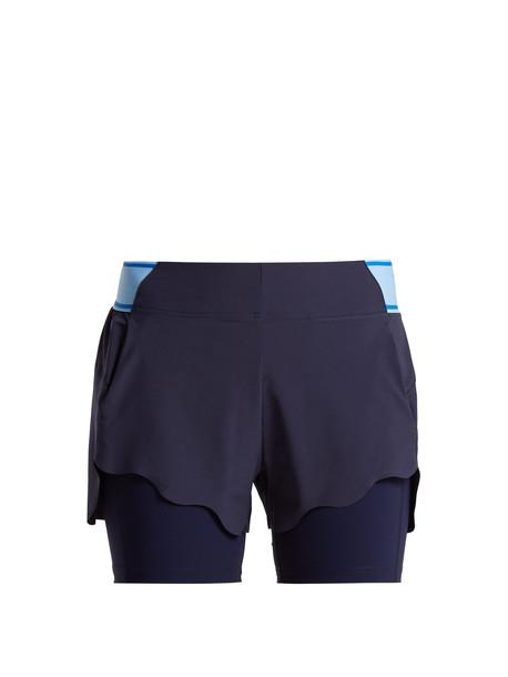shorts scalloped shorts scalloped navy