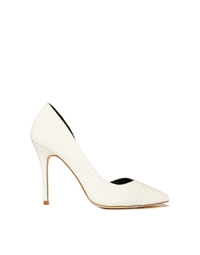 River Island | River Island New Dorsay Heeled Court Shoes at ASOS