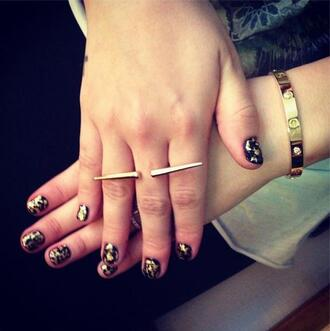 jewels bracelets ring gold gold bracelet gold ring minimalist jewelry