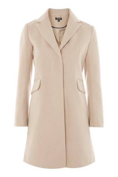 overcoat nude coat