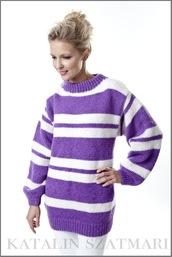 sweater,striped sweater,white sweater,purple sweater,mohair sweater,angora sweater,man's sweater,knitted sweater,women's sweater,crew-neck sweater