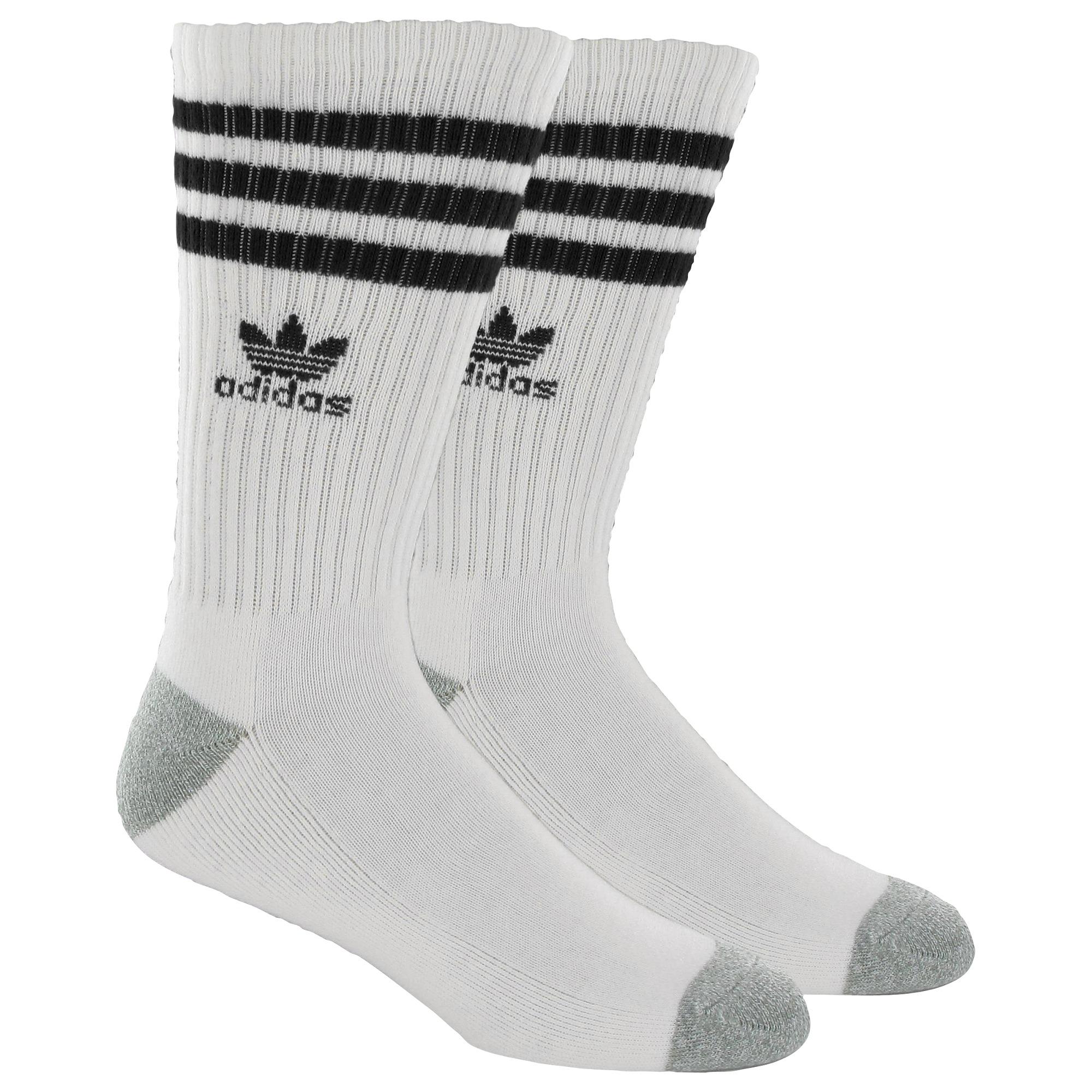 Adidas Roller Crew Socks 1 Pr White Adidas Us
