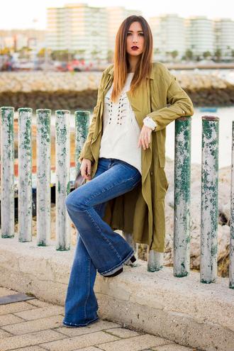 shoes and basics blogger coat jeans bag shoes jewels
