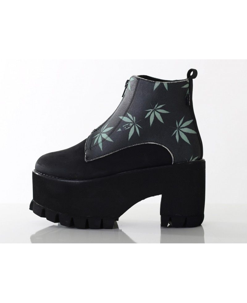 Hotmess reefa zip up chelsea boot hot mess fashion uk