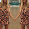 Cheetah rave romper – dream closet couture