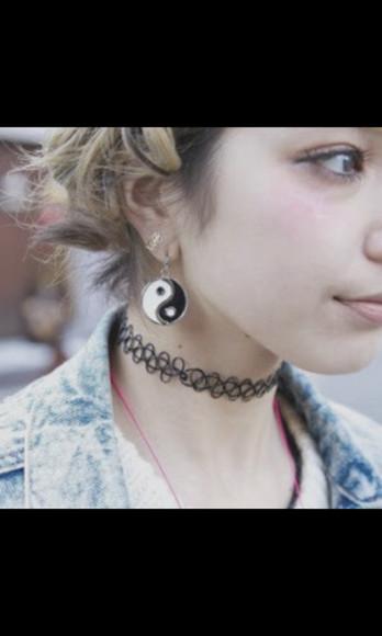 jewels necklace collier earphones