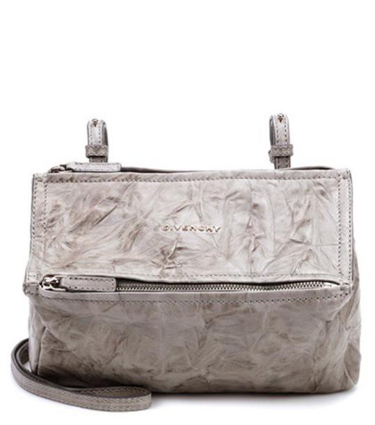 Givenchy mini bag shoulder bag leather grey