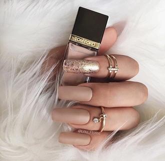 nail polish tumblr knuckle ring ring accessories nail art nail stickers acrylic nails