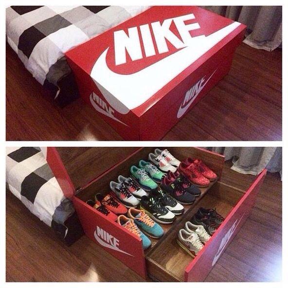 Nike shoe storage