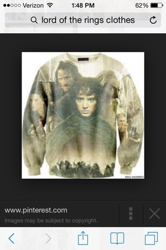 jacket lord of the rings 3d sweatshirts cool