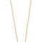 Jennifer zeuner jewelry small open circle necklace - gold