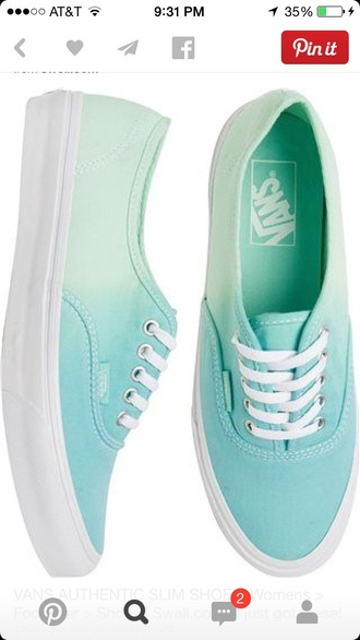 vans light blue