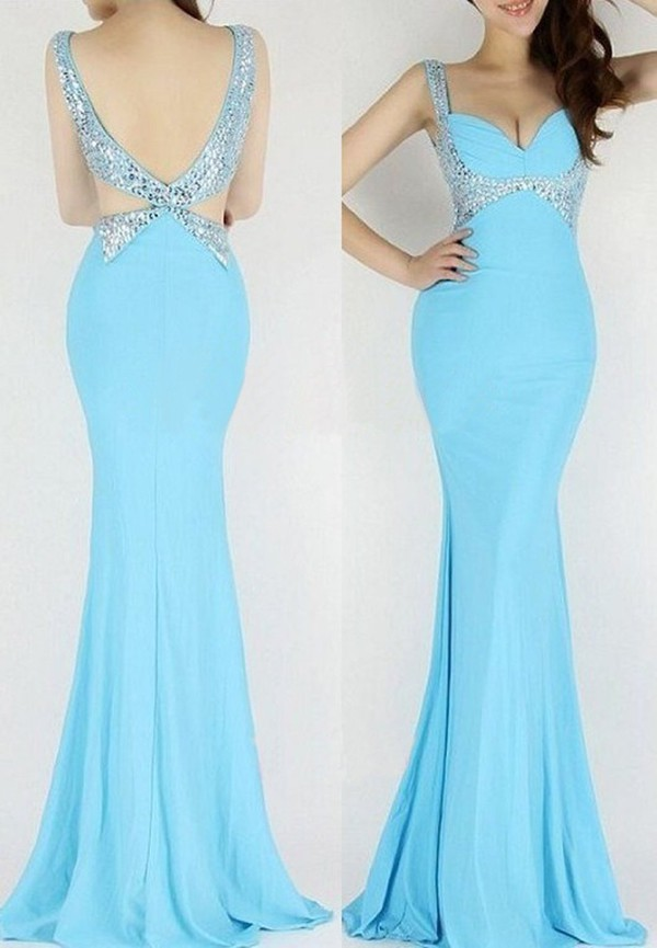 gorgeous prom dress gorgeous blue evening dress