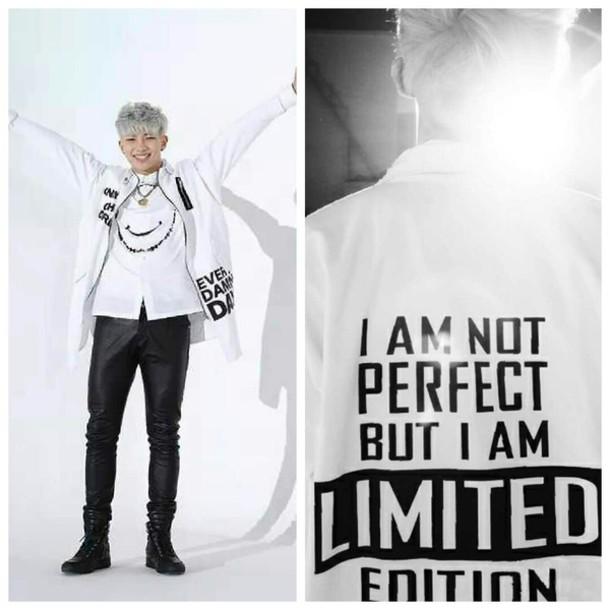 jacket bts bangtan boys rap monster K-pop korean fashion rapmonster kpop kfashion