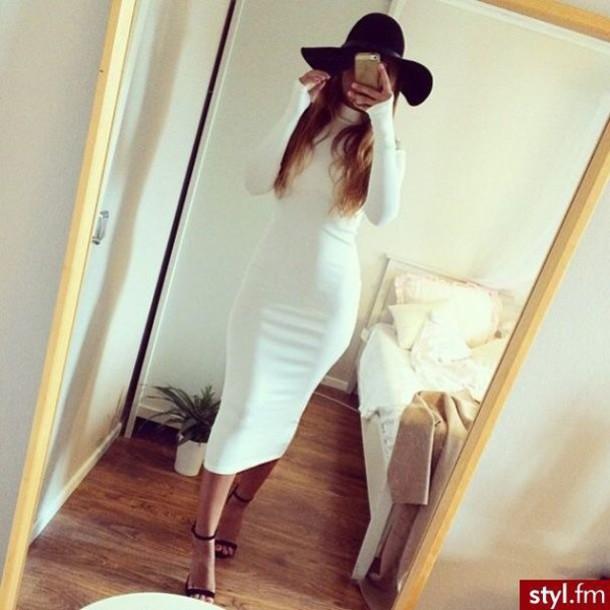 dress white midi dress summer dress white dress evening dress