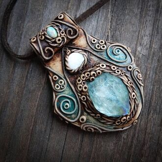 jewels boho jewelry jewelry turquoise jewelry necklace gemstone pendant gemstone