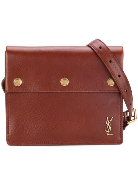 belt bag women bag leather brown