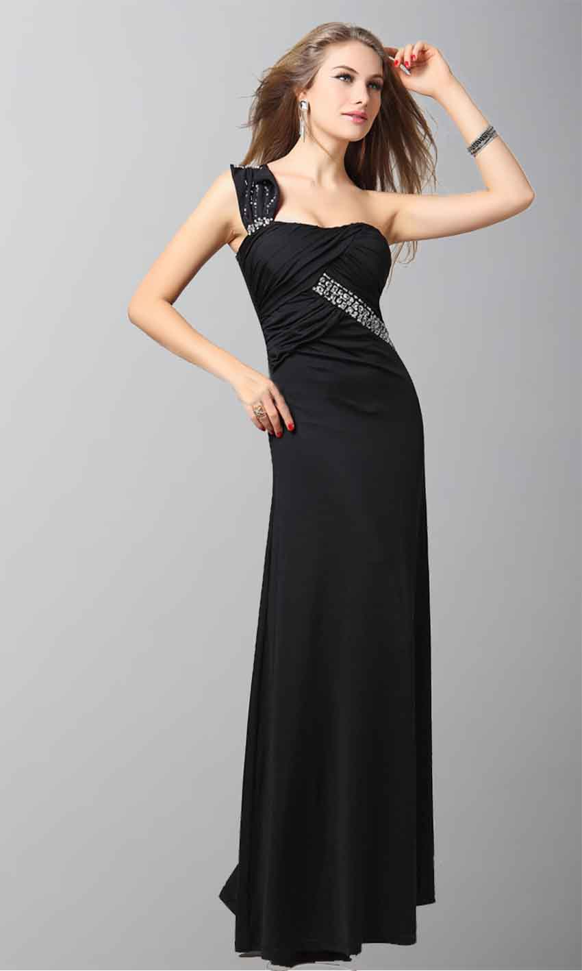 Tight Black One Shoulder Evening Dress One Sale KSP056 [KSP056] - £97.00 : Cheap Prom Dresses Uk, Bridesmaid Dresses, 2014 Prom & Evening Dresses, Look for cheap elegant prom dresses 2014, cocktail gowns, or dresses for special occasions? kissprom.co.uk offers various bridesmaid dresses, evening dress, free shipping to UK etc.