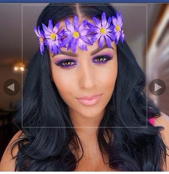 hair accessory headband floral spring flowers