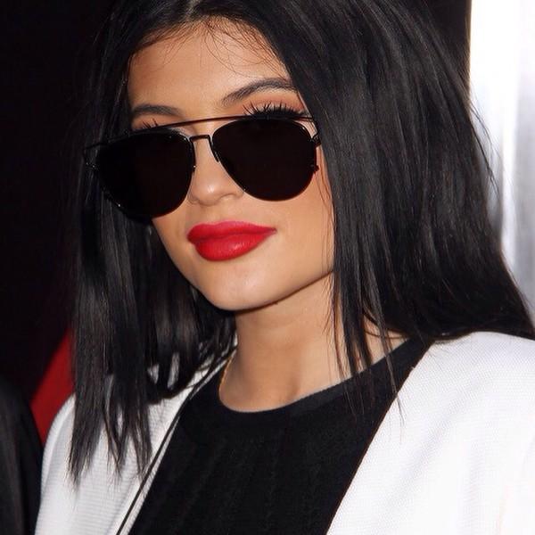 998a70ecc03 make-up kylie jenner kardashians lipstick urban red lipstick home accessory  sunglasses.