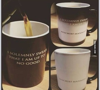 home accessory cup mug harry potter