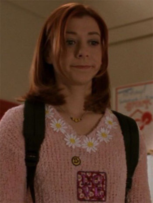 sweater jumper pink sweater buffy the vampire slayer