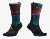 socks,lebrons,lebron 13,multicolor