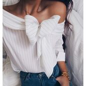 top,storets,off the shoulder,cool shirts