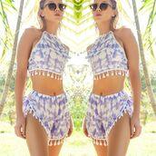 romper,bikini luxe,tie dye shorts,tie dye shirt,crop tops,coachella