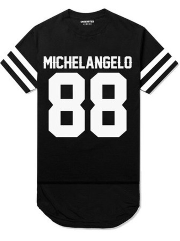 justin bieber black white 88 shirt
