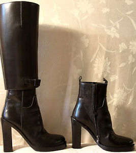 !!! WOW !!! INCREDIBLE RUNWAY SEXY ANN DEMEULEMEESTER BOOTS !!! size 39