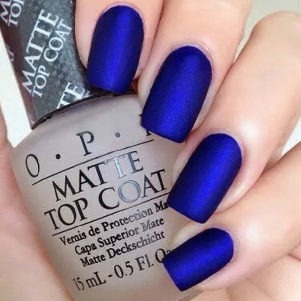 nail polish, royal blue, opi - Wheretoget