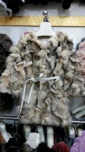 coat,fox fur,jacket,winter fur coat