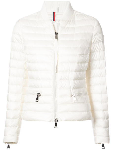 moncler jacket long women white